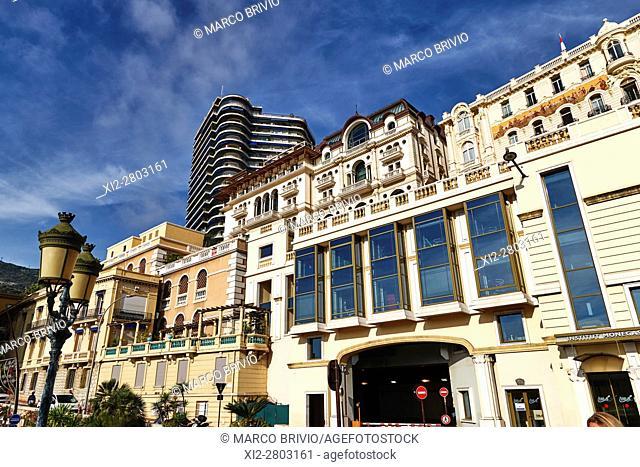 Montecarlo, Monaco Principality. Modern buildings, the Cardio Thoracic Center