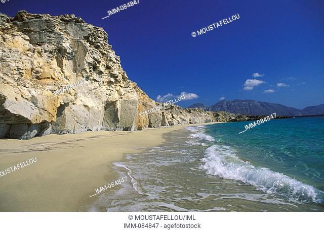 Dodecanese, Kassos Armathia islet Marmara beach