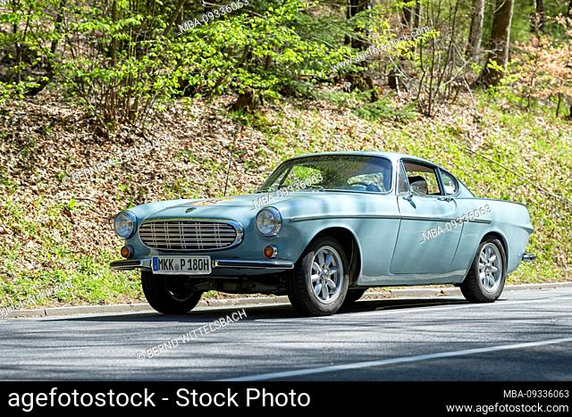 Bad König, Hesse, Germany, Volvo P1800, production period 161-1972, 1780 cc, 66-91 kW, at the Klassikerfestival
