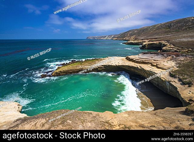 Lobo Canyon Beach, Santa Rosa Island, Channel Islands National Park, California USA