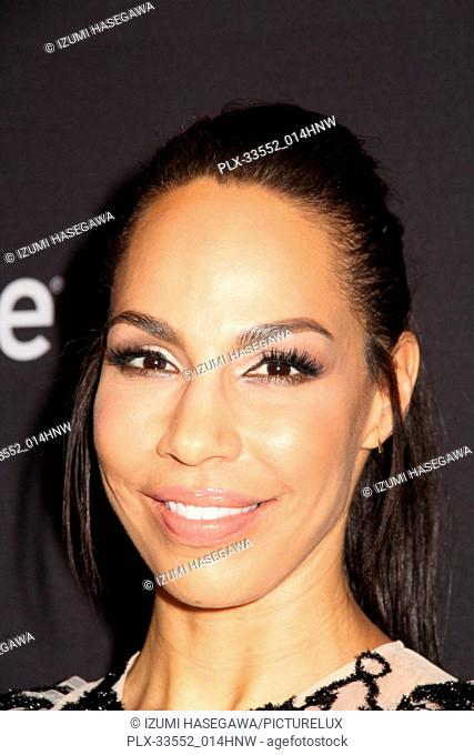 """Amanda Brugel 03/18/2017 PaleyFest 2018 """"""""The Handmaid's Tale"""""""" held at The Dolby Theatre in Hollywood, CA Photo by Izumi Hasegawa / HNW / PictureLux"""