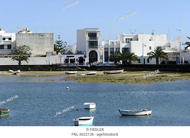 Charco de San Gines, Arrecife, Lanzarote, Canary Islands, Spain, Europe