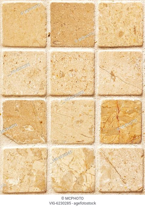 A photography of a seamless stone tiles wall - 08/01/2009