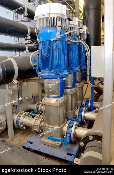 refinery, pipeline, seawater treatment