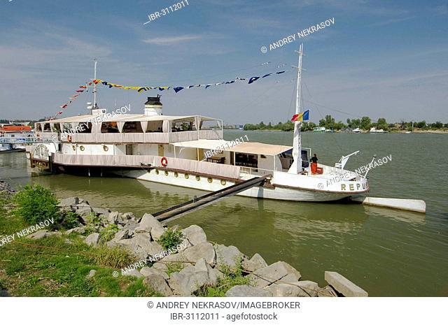 Marina on the Danube river, Tulcea, Tulcea County, Romania