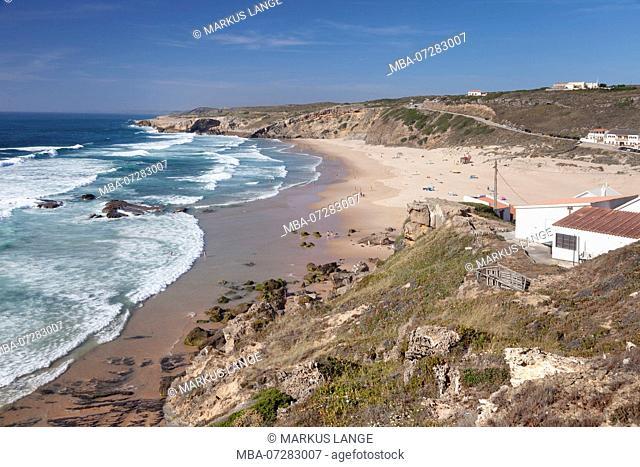 Praia da Monte Clerigo, Aljezur, Costa Vicentina, west coast, Algarve, Portugal