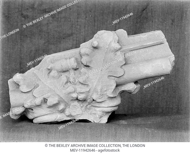 Lesness Abbey - Miscellaneous Object, 1915. The archeological excavations of Lesnes Abbey carried out by the Works Committee of the Woolwich Antiquarian Society...