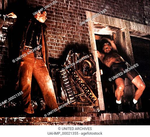 Blade Runner, (BLADE RUNNER) USA 1982, Regie: Ridley Scott, HARRISON FORD, RUTGER HAUER, Key: Kampf, Gefecht