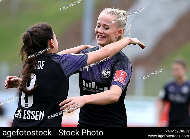 firo: 16.02.2020 Football, women FLYERALARM-Women-Bundesliga, season 2019/2020 MSV Duisburg - SGS Essen Lea Schuller (# 7