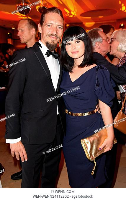 Deutscher Filmpreis 2016 at Messe Berlin - After Party Featuring: Leonard Andreae, Anna Fischer Where: Berlin, Germany When: 27 May 2016 Credit: WENN
