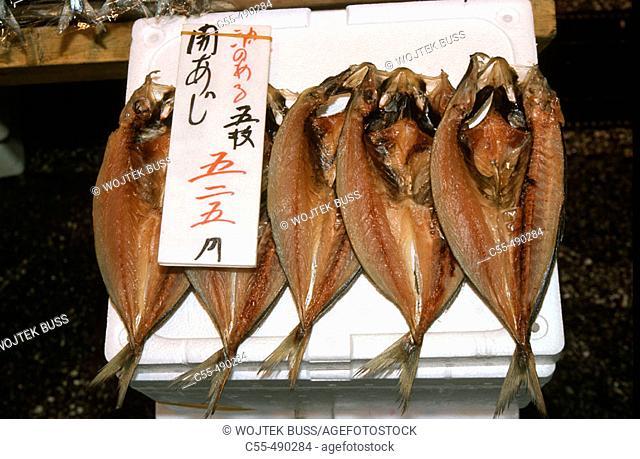 Nijo fish market, Sapporo. Hokkaido, Japan
