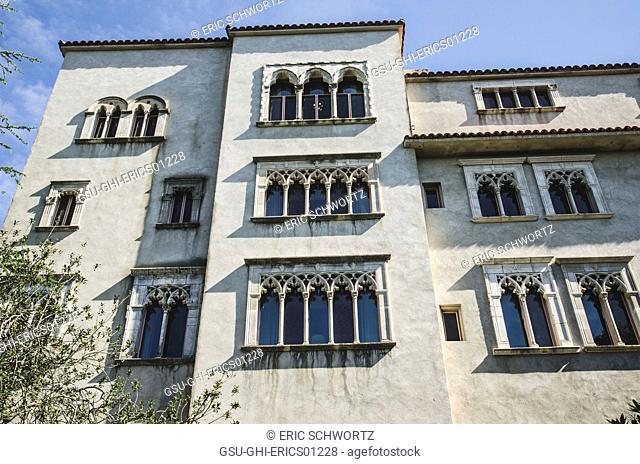 Heart Castle Detail, San Simeon, California, USA