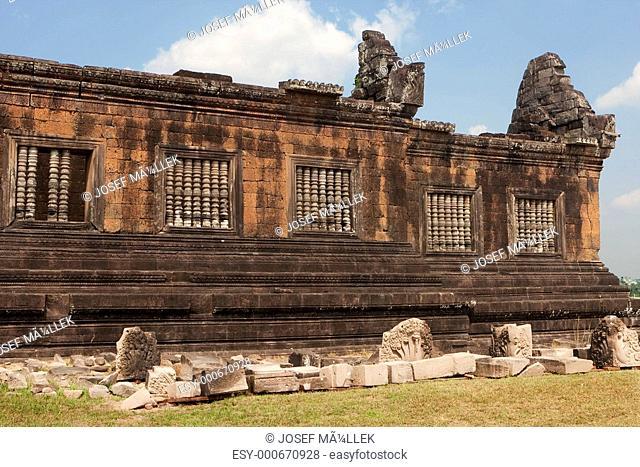 Wat Phu Khmer Tempel in Laos