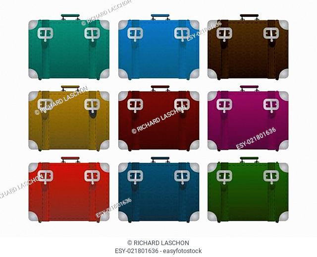 Lugages, suitcase set