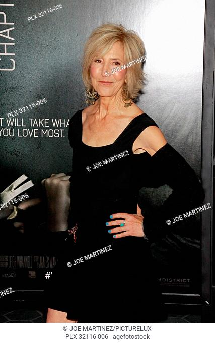 Lin Shaye at the World Premiere of Film District's Insidious: Chapter 2. Arrivals held at Universal CityWalk in Universal City, CA, September 10, 2013