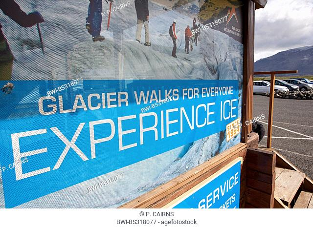 adventure tourism being promoted, Iceland, Skaftefjell