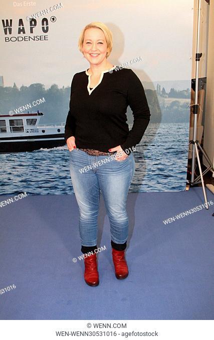 Photocall for ARD TV series 'WaPo Bodensee' at Arcotel Onyx. Featuring: Floriane Daniel Where: Hamburg, Germany When: 29 Nov 2016 Credit: WENN.com