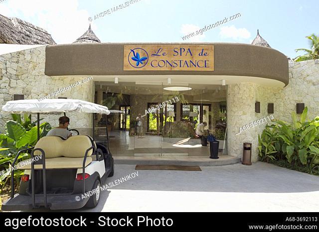 Le SPA de Constance in Ephelia Resort on the west coast of Mahé island, Seychelles