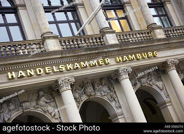 Chamber of commerce in Hamburg. Germany. Photo: André Maslennikov
