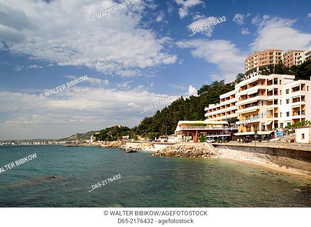 Albania, Vlora, beachfront hotels