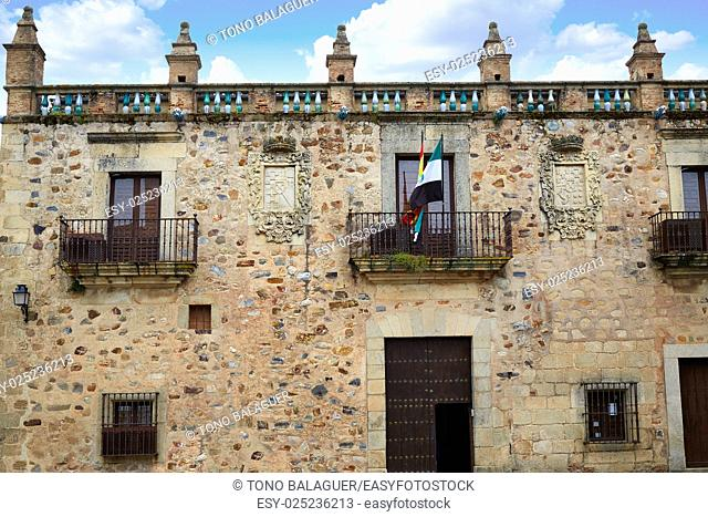Caceres Museum in Spain at Extremadura