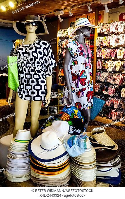 Strandkleid, Havaianas Sandalen, Souvenir, Zuckerhut, Rio de Janiero, Brasilien (DIE sandalen schlechthin in brasilien, die trägt jeder dort