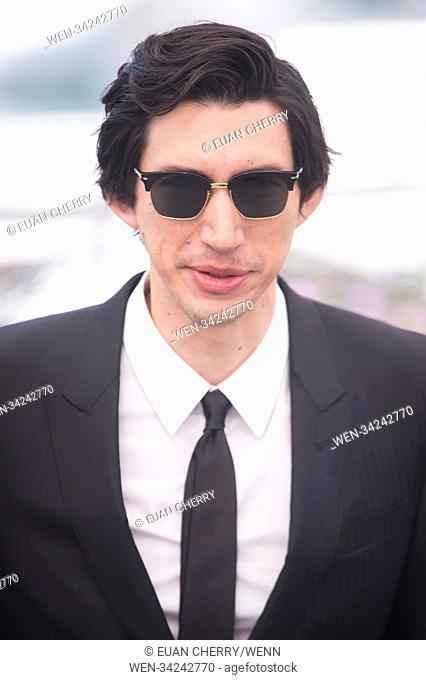 "Celebrites attend a photocall for """"BlacKkKlansman"""" at the festival de palais during the 71st Cannes Film Festival. Featuring: Adam Driver Where: Cannes"