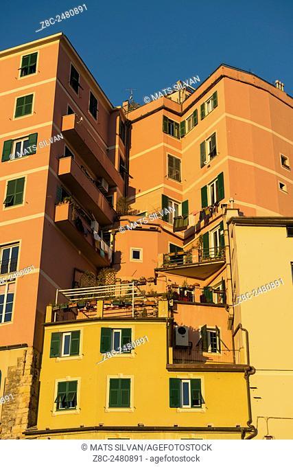 Building in Genoa, Italy