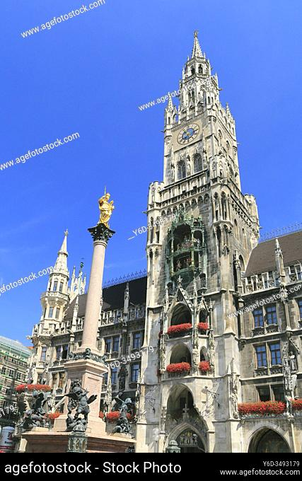 New Town Hall, Munich, Germany