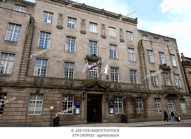 Preston town hall England UK