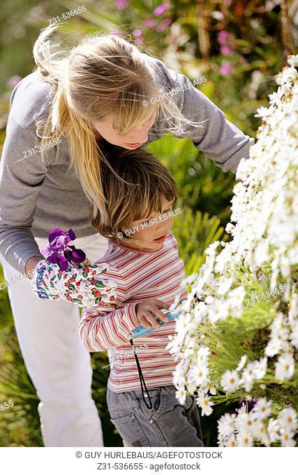 Zina, Naloen, Standing, Showing , Flowers