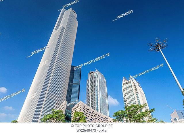 Urban architecture in Guangzhou