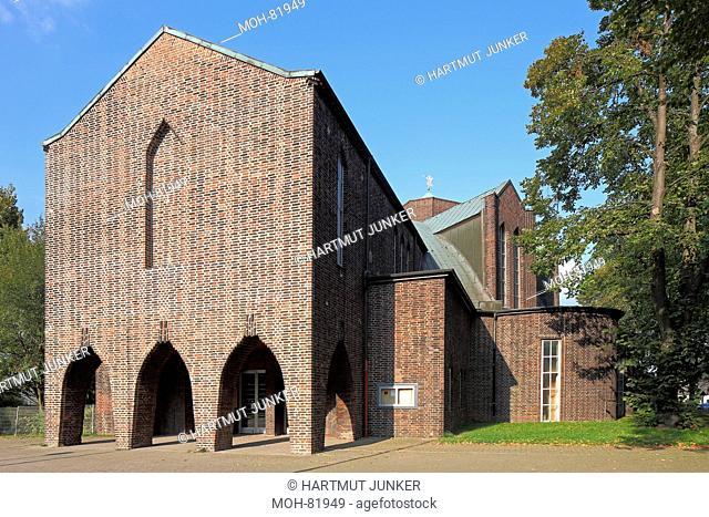 Essen-Frillendorf, Kirche des Heiligen Schutzengel