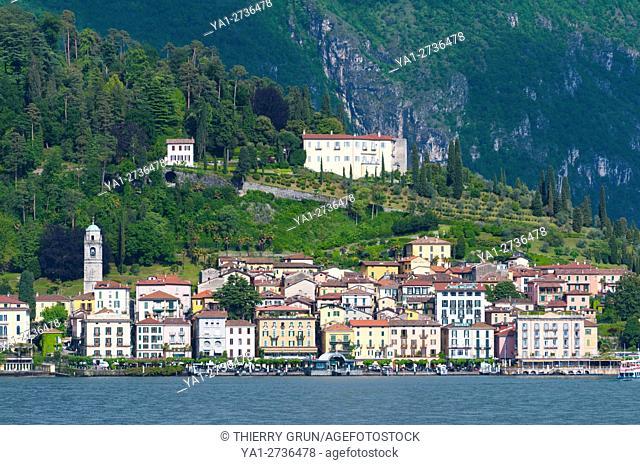 Italy, Lombardy, Como lake, Bellagio village, on hilltop villa Serbelloni