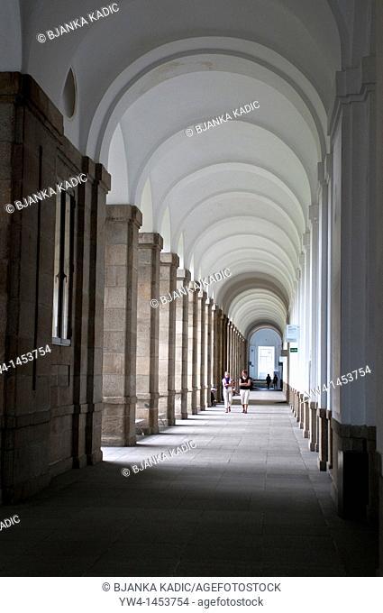 Corridor, Museo Reina Sofía, Queen Sofia Museum, Madrid, Spain