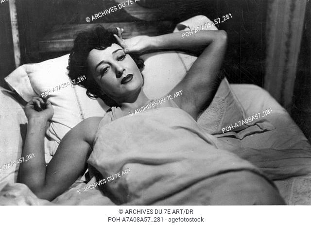 le monde est comme ca Mondo vuole così, Il  Year: 1946 - italy Clara Calamaï  Director: : Giorgio Bianchi. WARNING: It is forbidden to reproduce the photograph...