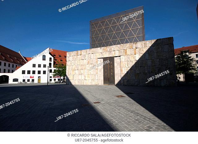 Germany, Bavaria, Munich, Jakobsplatz, Jacob Square, Main Synagogue