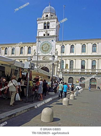 Palazzo Dei Capitanio Piazza Dei Signori Padua Italy