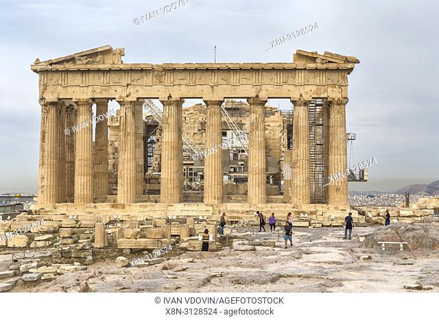 Parthenon temple (432 BC), Athens, Greece