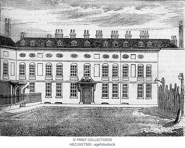 Cleveland House, Westminster, London, c1799 (1878). Artist: Unknown