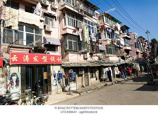 This kind of buildings can be seen throughout China most of them were built in Soviet style in the late 1950s to Early 1980s