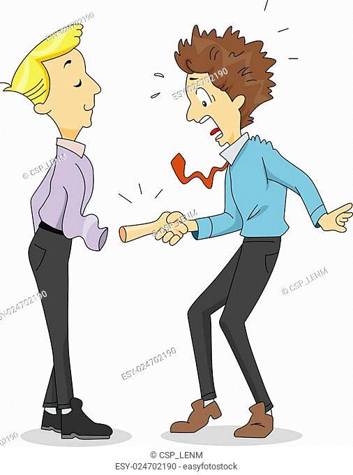 Funny Handshake