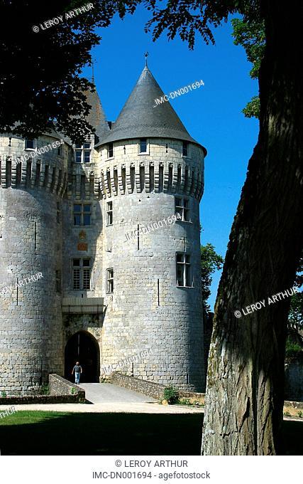 France, Centre, castle of Nogent-le-Rotrou
