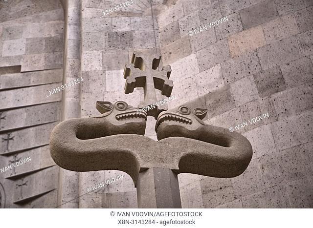 Church of the Holy Archangels, Srbots Hreshtakapetats church (2011), Vagharshapat, Armavir province, Armenia