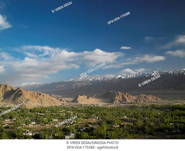 Leh Town , Ladakh , Jammu And Kashmir , India , Asia