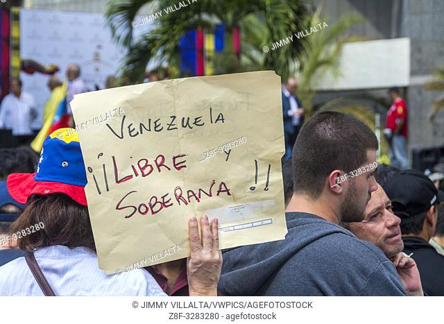 The president of the National Assembly, Juan Guaidó, called on civil society to hold an open town hall on Friday to declare the usurpation of the Presidency of...