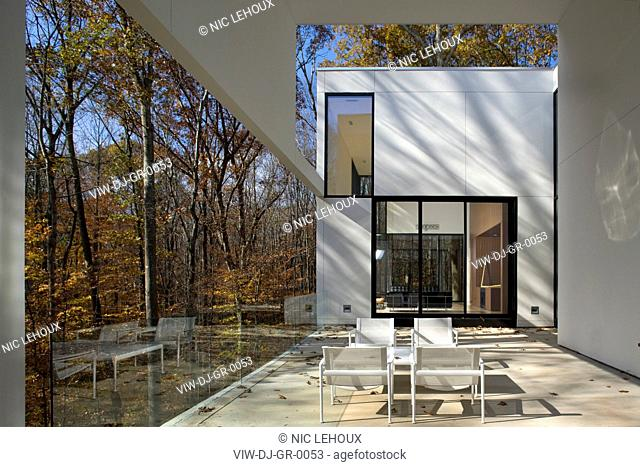 Graticule, Rock Creek, United States, David Jameson, GRATICULE HOUSE DAVID JAMESON ARCHITECTS ROCK CREEK VIRGINIA USA 2009