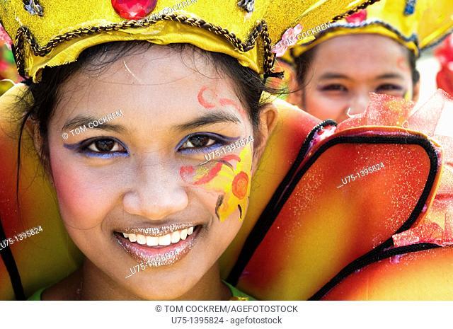 Pintaflores festival, San Carlos, Negros Occidental, Philippines