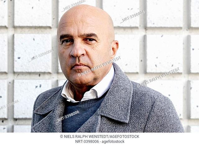 AMSTERDAM - Portrait of crime reporter John van den Heuvel