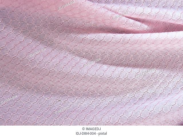 Close-up of pink Knit Pattern